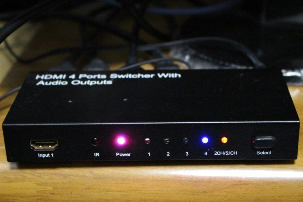 HDMIセレクター「400-SW015」(5.1chの場合)