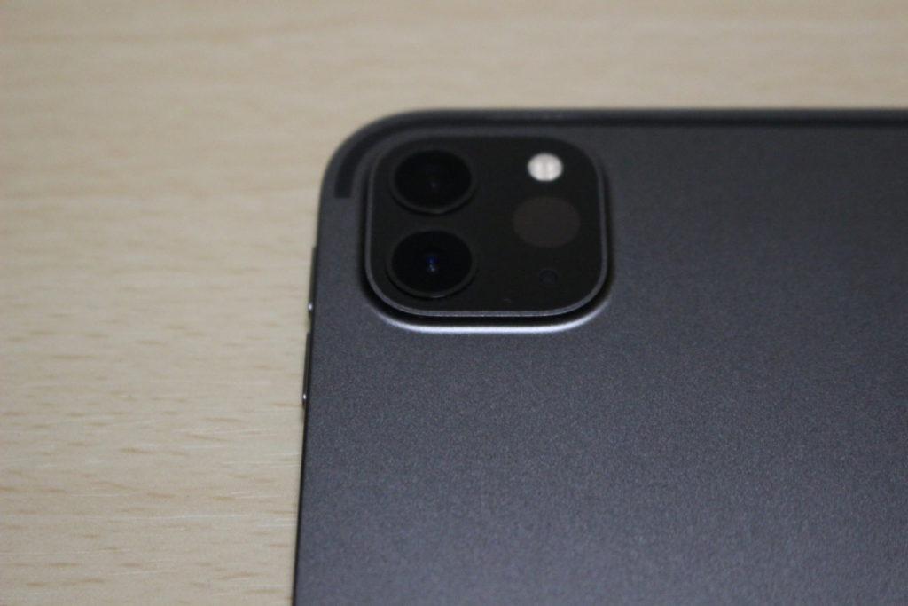 iPad Pro (2020)のカメラ部分