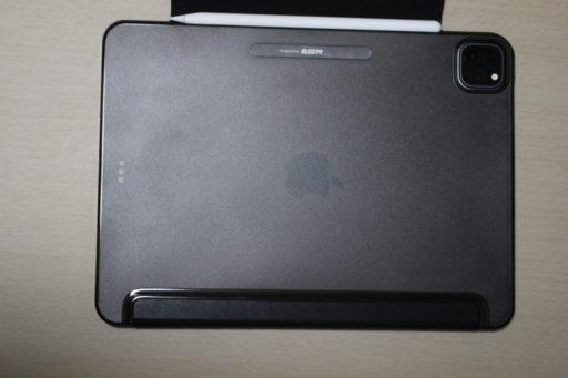 iPad Pro (2020)のケース(Apple Pencilを本体につけた状態)