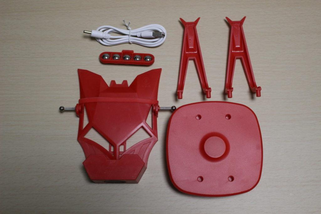ポケモンGOの孵化装置(組み立て前)