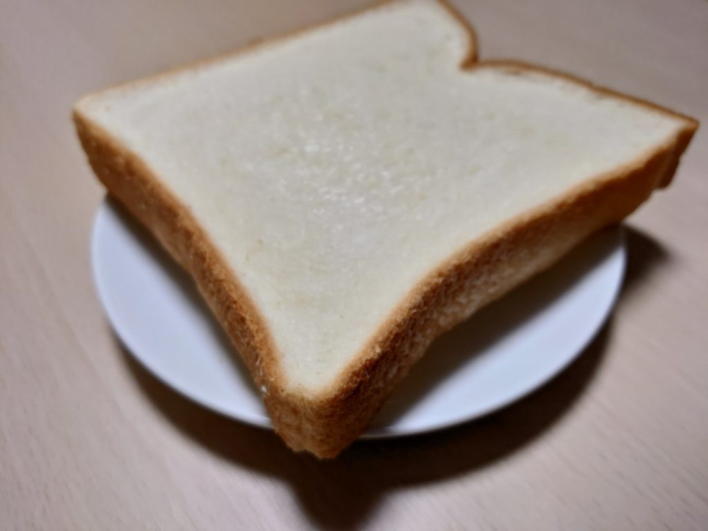 Xperia1で撮った食パンの写真