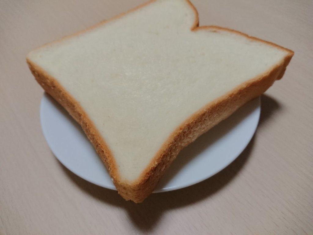 XperiaXZ1で撮った食パンの写真