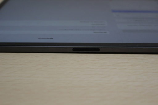 iPad Proの側面(マグネット部分)