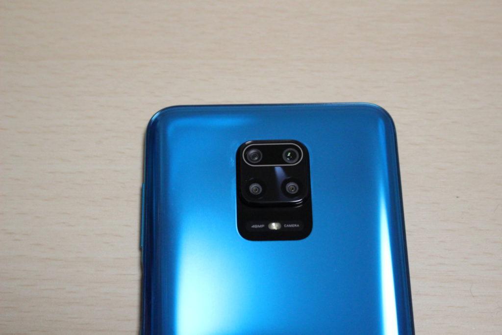 Redmi Note 9Sのカメラ部分拡大