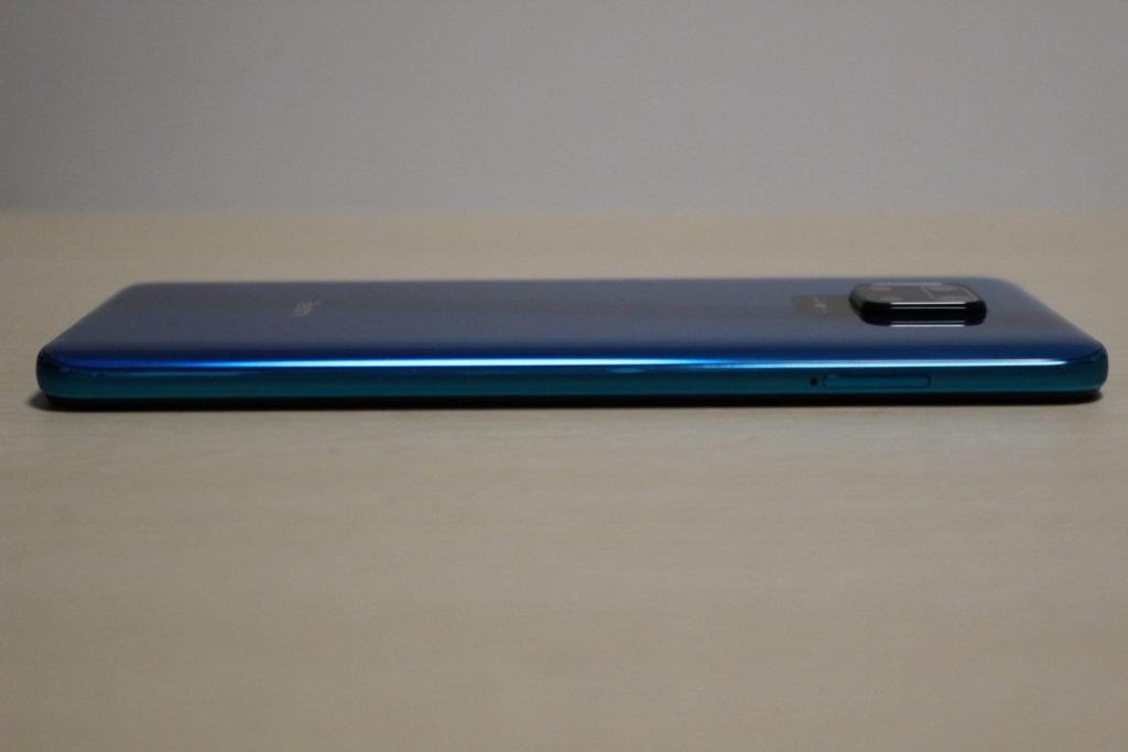 Redmi Note 9S本体左側