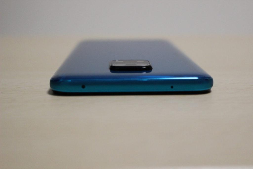 Redmi Note 9S本体上側