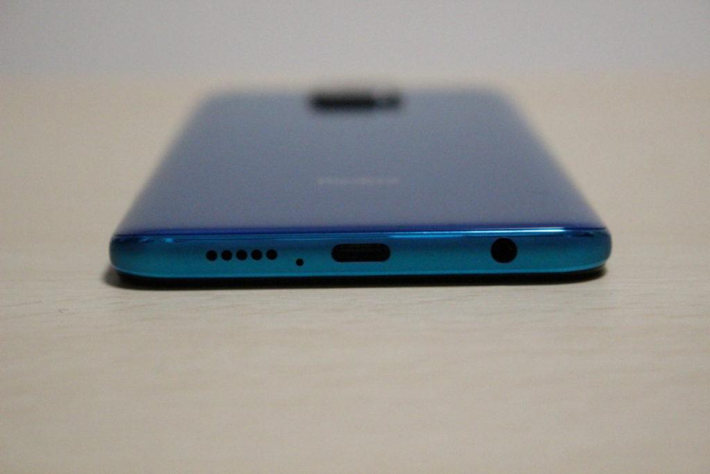 Redmi Note 9S本体下側