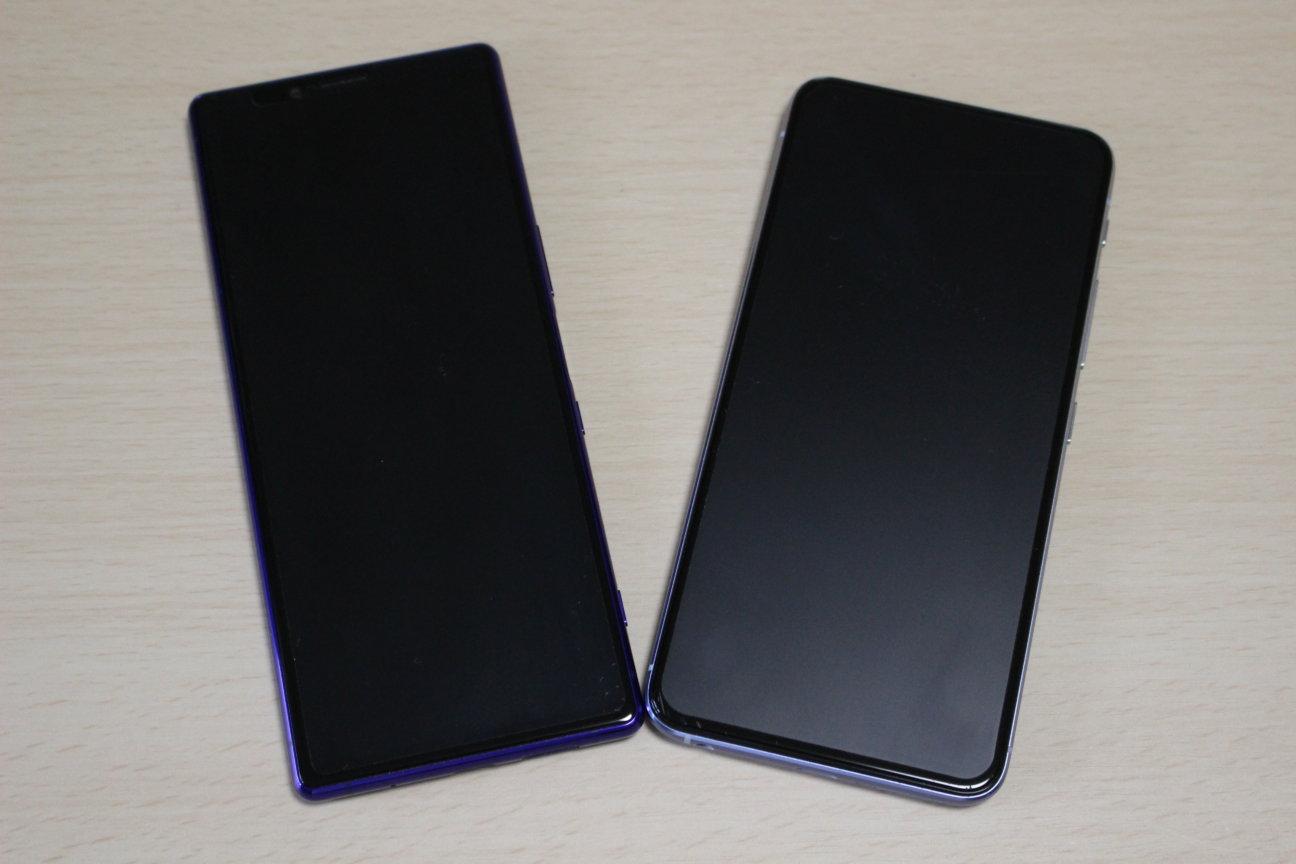 Xperia1とZenFone6
