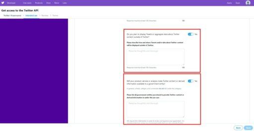 TwitterAPIの申請方法7