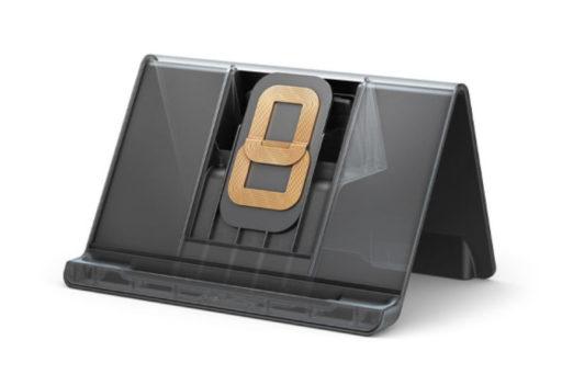 Fire HD 8 Plus用ワイヤレス充電スタンドの充電コイル