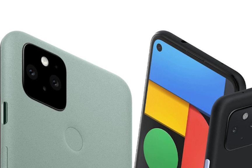 Pixel5とPixel4a(5G)