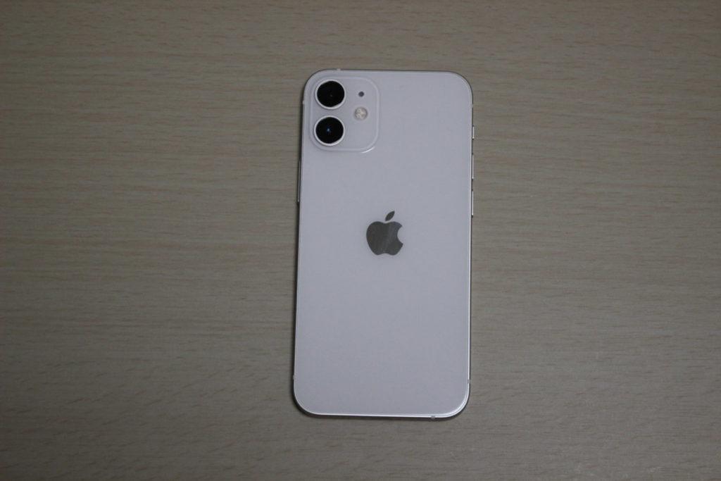 「iPhone12mini」の裏面
