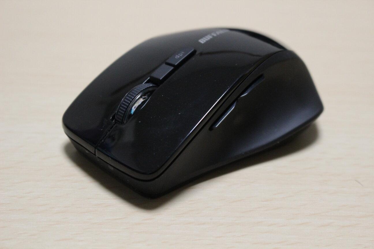 BUFFALOのワイヤレスマウス「BSMBW325」