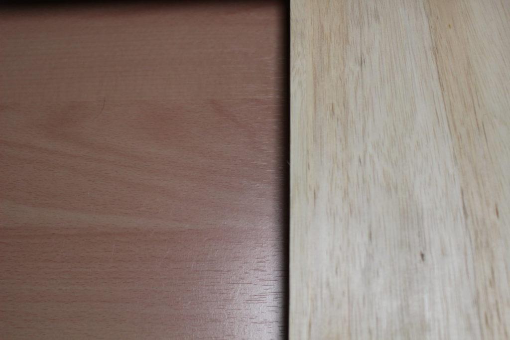 ナカバヤシノートスライダー「PDN-003-NM」と木