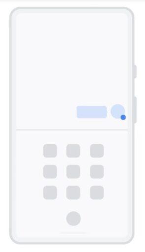 Android11のバブル表示のイメージ2