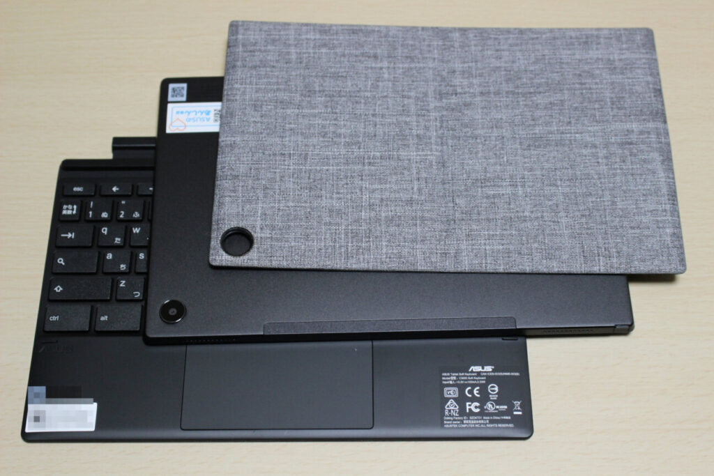 「Chromebook Detachable CM3」