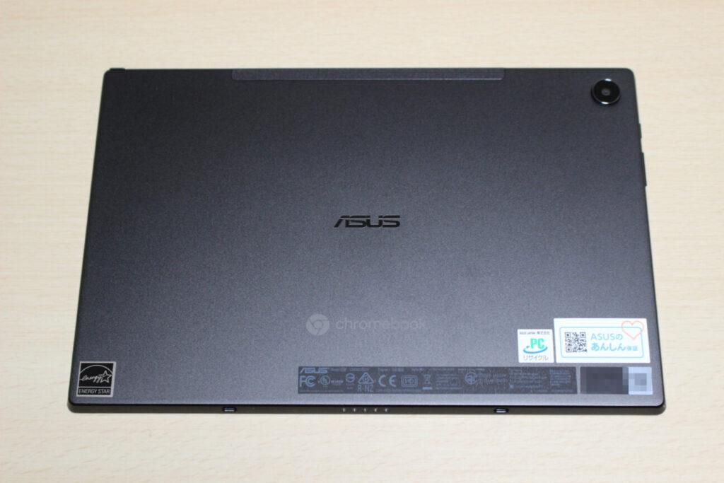 「Chromebook Detachable CM3」本体背面