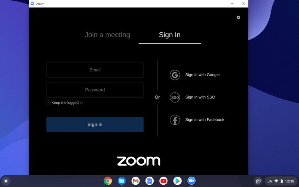 「Chromebook」で「Zoom」を使う方法(10)