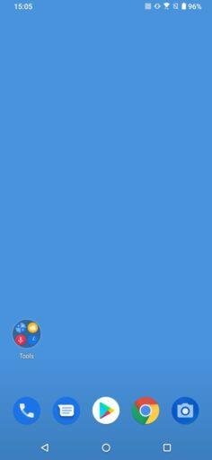 「ZenFone 6」のホーム画面