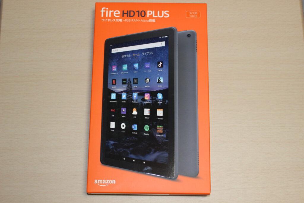 「Fire HD 10 Plus」の箱