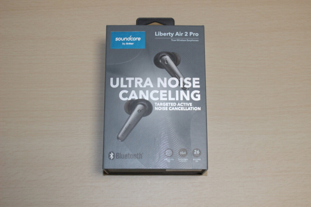 「Soundcore Liberty Air 2 Pro」の箱