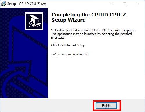 「CPU-Z」のインストール(6)