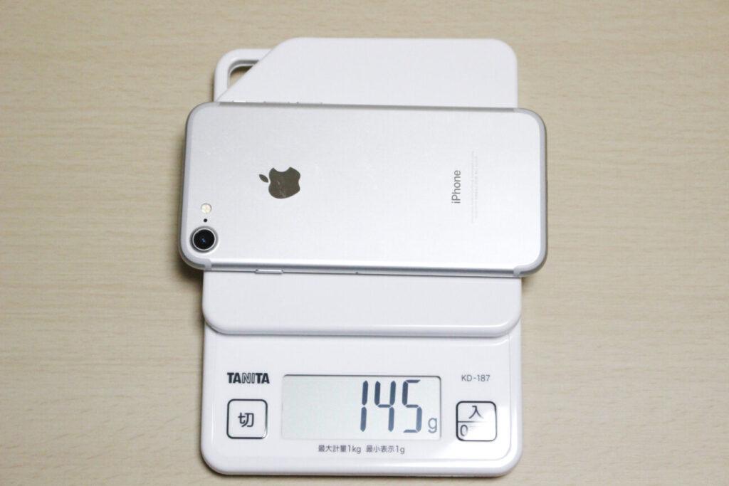 「iPhone7」の重さ