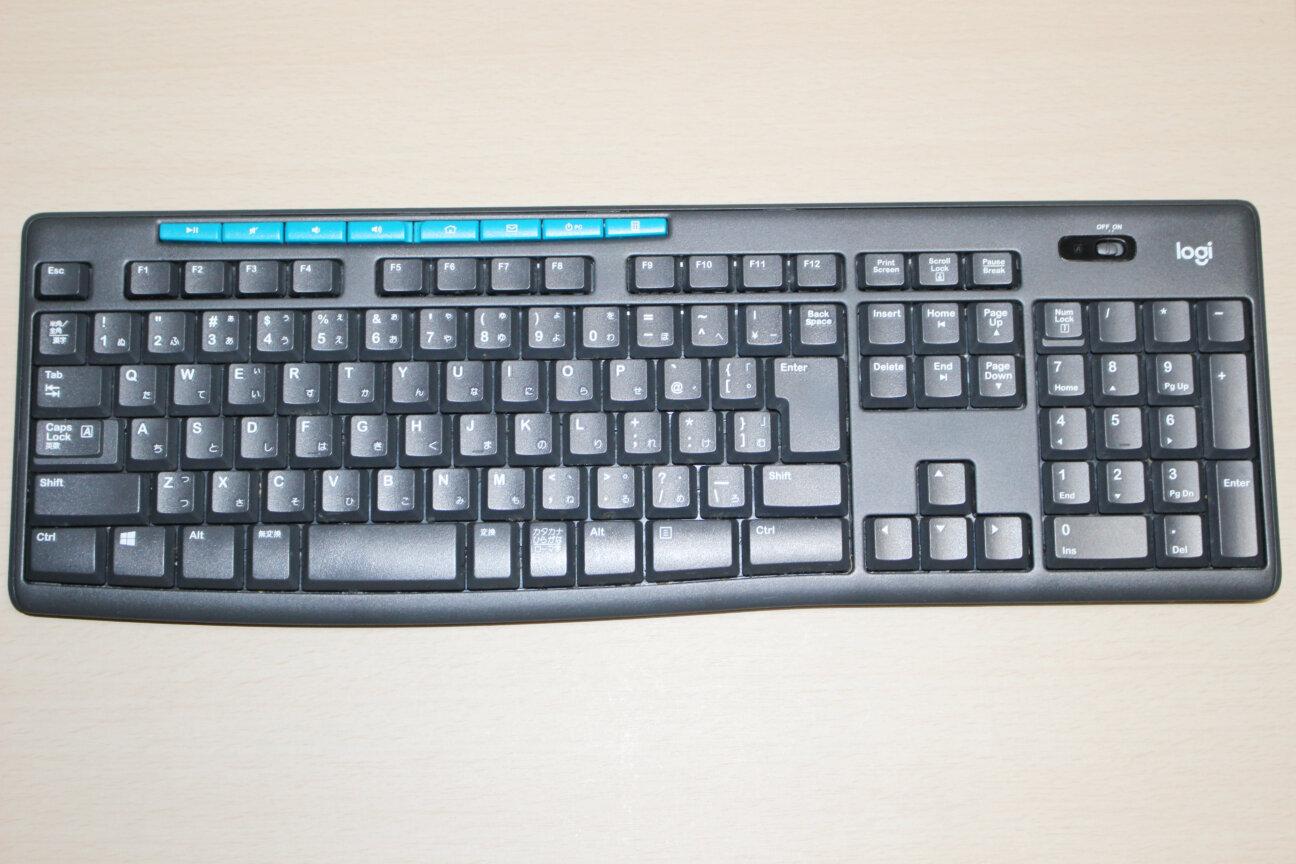 ロジクールのワイヤレスキーボード「K275」