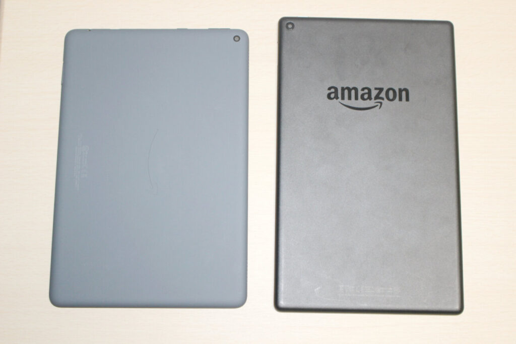 第11世代「Fire HD 10 Plus」と第7世代「Fire HD 10」